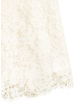 Shorts in pizzo - Bianco naturale -  | H&M IT 3