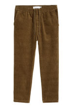Pantaloni in velluto - Marrone - UOMO | H&M IT 2