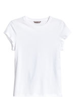 H&M+ Jersey top - White - Ladies | H&M CN 2