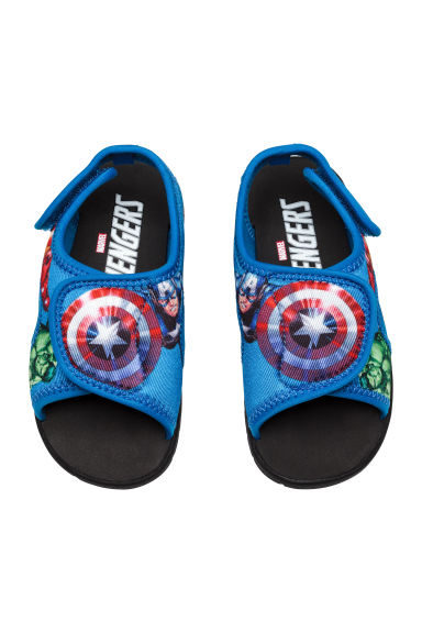 Scuba sandals - Blue/Avengers - Kids | H&M 1