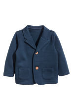 Piqué blazer - Dark blue - Kids | H&M 1