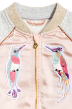 Sweatshirt jacket - Powder pink - Kids | H&M GB 4