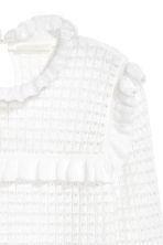 Textured-knit jumper - White - Ladies | H&M GB 3