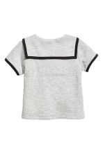 Sailor top - Light grey marl - Kids | H&M 2