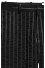 Striped suit trousers - Black - Men | H&M 4