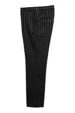 Striped suit trousers - Black - Men | H&M 3