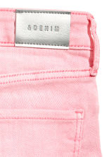 Denim shorts - Washed-out pink -  | H&M 4