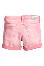 Denim shorts - Washed-out pink - Kids | H&M 3