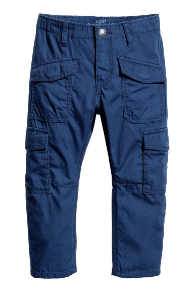 Cargo trousers - Dark blue - Kids | H&M 1