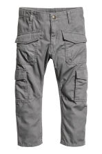 Cargo trousers - Dark grey - Kids | H&M 1