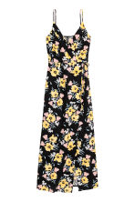 Maxi dress - Black/Floral - Ladies | H&M 2