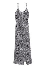Maxi dress - Zebra print - Ladies | H&M CN 2