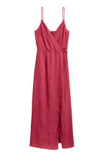 Maxi dress - Raspberry red - Ladies | H&M CN 2