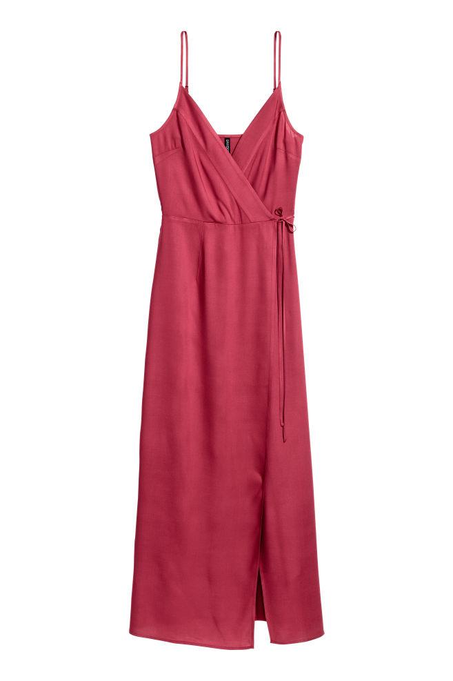 Maxi dress - Raspberry red - Ladies | H&M GB