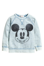 Light blue/Mickey Mouse