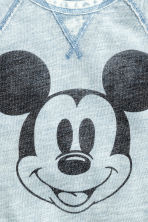 图案卫衣 - Light blue/Mickey Mouse -  | H&M CN 2