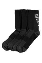 3-pack running socks - Black - Men | H&M 1