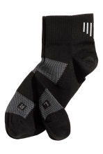 3-pack running socks - Black -  | H&M CN 2