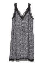 H&M+ Patterned dress - Black/Floral - Ladies | H&M 2