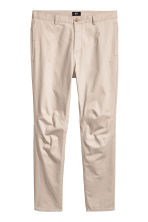 Cotton chinos - Light beige - Men | H&M CN 2