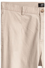 Cotton chinos - Light beige - Men | H&M 4