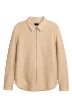 Braided shirt jacket - Beige - Men | H&M 2
