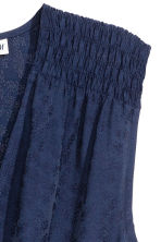 Jacquard-weave dress - Dark blue - Ladies | H&M 3