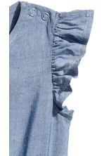 Tuta in chambray - Blu/chambray -  | H&M IT 3