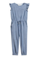 Tuta in chambray - Blu/chambray -  | H&M IT 2