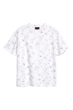 Patterned T-shirt - White/Patterned - Men | H&M CN 2