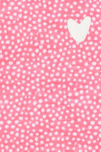 Jersey top - Pink/Spotted -  | H&M 2