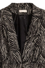 Belted jacket - Zebra print - Ladies | H&M 3