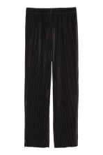 Pleated trousers - Black - Ladies | H&M 2