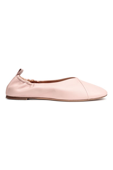Ballet shoes - Powder pink -  | H&M 1