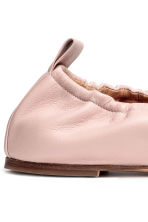 Ballet shoes - Powder pink -  | H&M 4