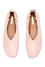 Ballet shoes - Powder pink -  | H&M 2
