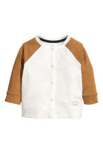 Jersey cardigan - White - Kids | H&M 1