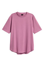 Cotton T-shirt - Heather - Men | H&M CN 2