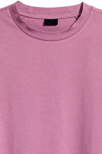 Cotton T-shirt - Heather - Men | H&M CN 3