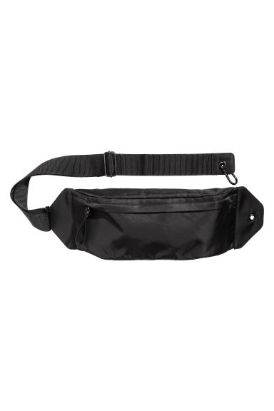 Nylon waist bag - Black -  | H&M