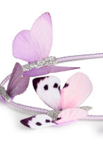 Hairband with butterflies - Light purple - Kids | H&M CN 2