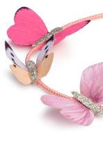 Hairband with butterflies - Neon pink - Kids | H&M 2