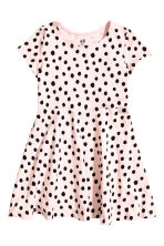 Jersey dress - Light pink/Spotted -  | H&M 3