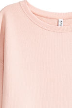 Sweatshirt dress - Powder pink - Ladies | H&M CN 3