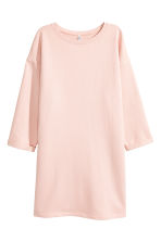 Sweatshirt dress - Powder pink - Ladies | H&M CN 2