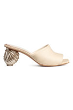 穆勒鞋 - Light beige -  | H&M CN 2