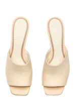 穆勒鞋 - Light beige -  | H&M CN 3