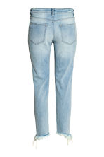 Straight Cropped Jeans - Light denim blue - Ladies | H&M 3