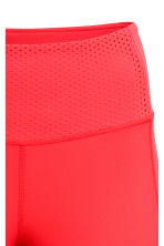 3/4-length sports tights - Red - Ladies | H&M CN 4