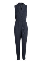 Dressy jumpsuit - Dark blue - Ladies | H&M CN 2